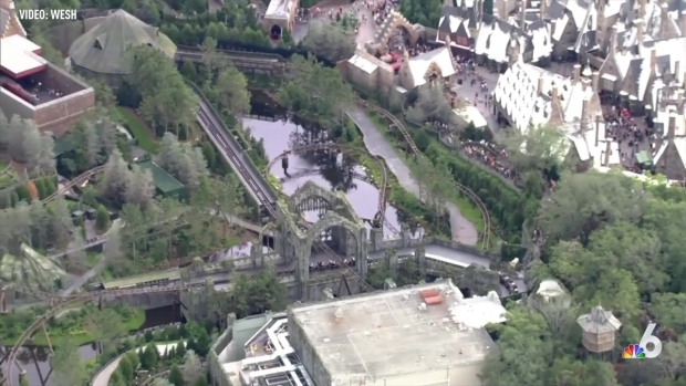Massive Lines At New Harry Potter Ride