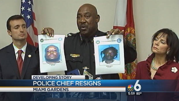 [MI] Miami Gardens Police Chief Matthew Boyd Steps Down