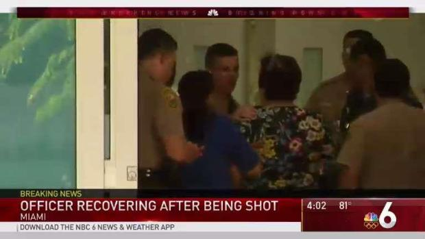 [MI] Miami-Dade Officer Recovering After Being Shot