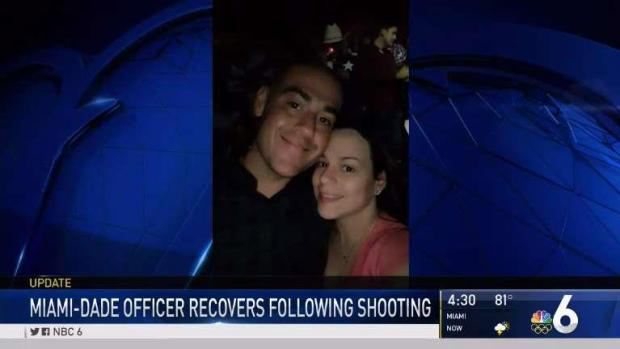 [MI] Miami-Dade Officer Recovers After Shooting