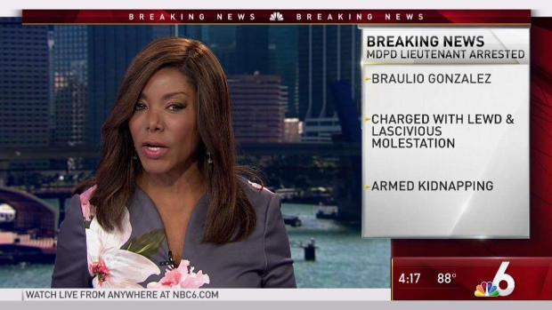 [MI] Miami-Dade Police Lieutenant Accused of Fondling Girl