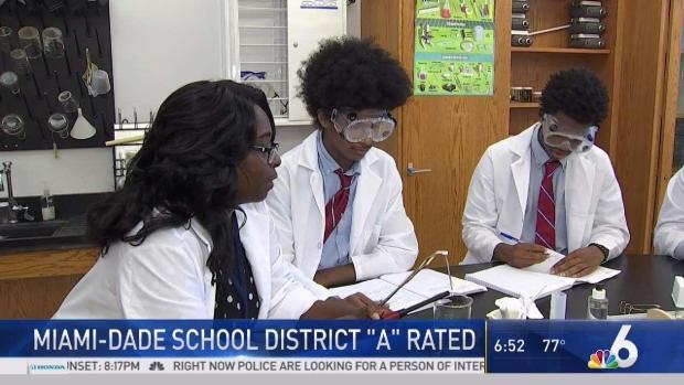 [MI] Miami-Dade Schools Earn First-Ever 'A' Grade