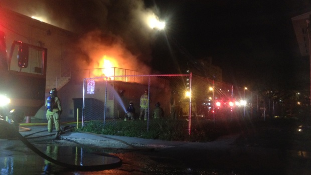 PHOTOS: Firefighters Battle Blaze at Miami Laundromat