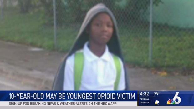 [MI] Miami 10 Year Old May Be Youngest Opioid Victim