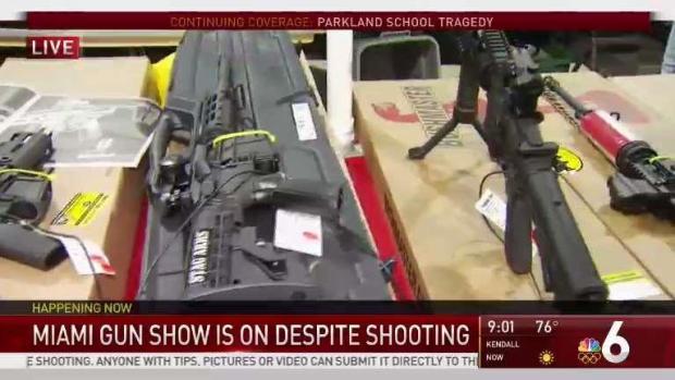 [MI] Miami Gun Show is On Despite Shooting