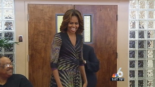 [MI] Michelle Obama Visits Miami to Promote Health Insurance