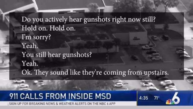 [MI] More 911 Calls Released in Parkland School Shooting