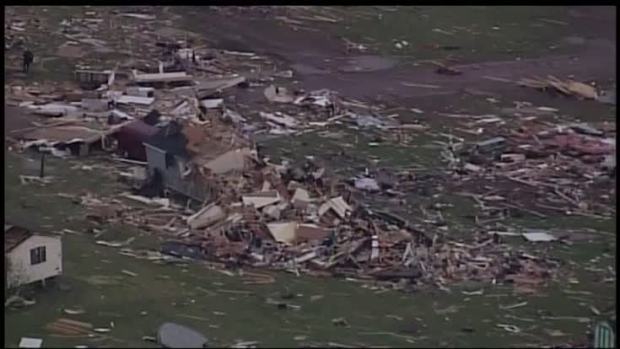 Dozens shelter after deadly Wisconsin tornado