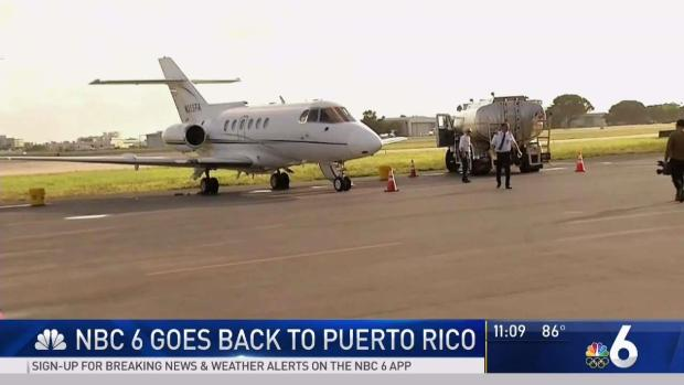 [MI] NBC 6 Goes Back to Puerto Rico With Jorge Posada