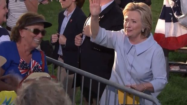 [NATL] Clinton Back on the Campaign Trail