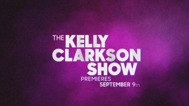 [NATL] Kelly Clarkson Debuts New Talk Show