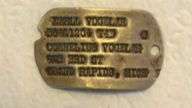 [NATL-NY] World War II Dog Tags Wash Up on Alaska Shore