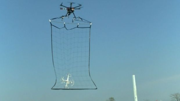Tokyo Police Test Drone That Catches Other Drones