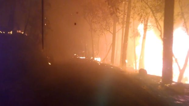 WATCH: Dramatic Video Shows Wildfire Escape