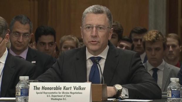 Former Ukraine Envoy to Testify in Impeachment Inquiry