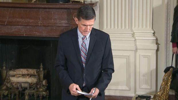 [NATL] Pentagon Probes Flynn Payments