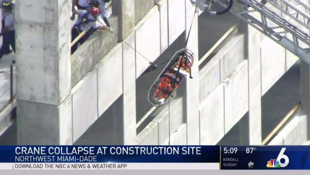 NW Dade Construction Ax Rescue