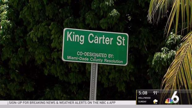 [MI] NW Miami-Dade Street Renamed in Honor of King Carter