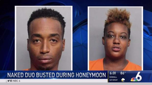 [MI] Naked Duo Busted During Honeymoon