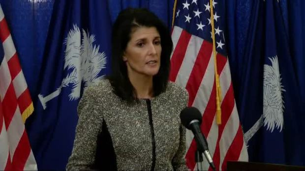 [NATL] Nikki Haley Accepts UN Post