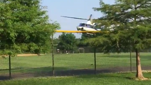 [NATL] Medevac Lands After Shooting at GOP Baseball Practice