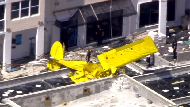 [MI] Pilot Dead After Plane Crashes Into Fort Lauderdale Condo Building