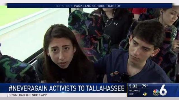 [MI] Parkland Students Push for Gun Laws in Tallahassee