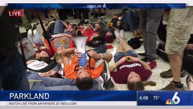 [MI] Parkland Survivors Hold Publix 'Die-In'