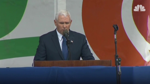 [NATL] Pence: 'Life Is Winning Again in America'
