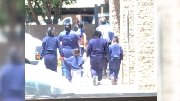 [NATL] Migrant Kids Housed in Phoenix Office Building
