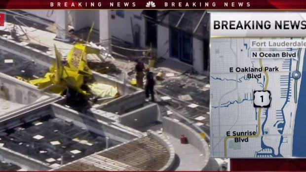 [MI] NBC 6 Reporter Details Plane Crash in Fort Lauderdale