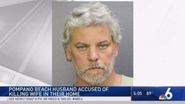 [MI] Pompano Beach Man Accused of Killing Wife