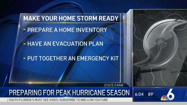 [MI] Preparing for Peak Hurricane Season
