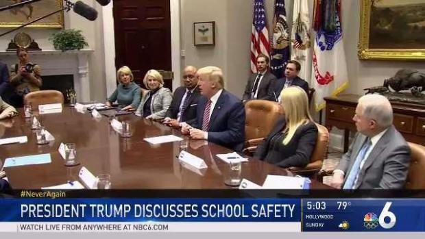 [MI] President Trump Addresses School Safety at White House
