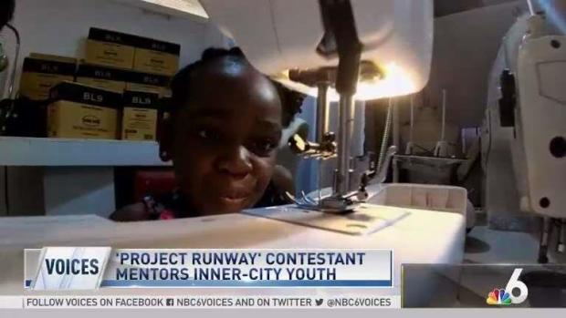 [MI] Project Runway Contestant Mentors Inner City Youth