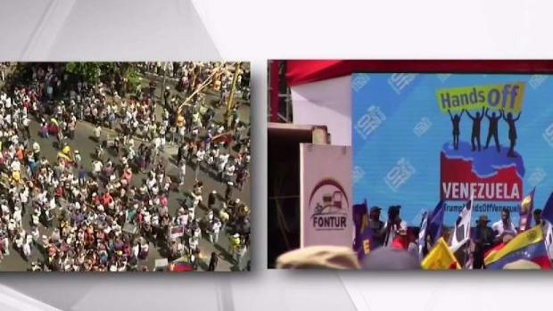 [MI] Protesters on Opposite Sides Hold Demonstrations in Venezuela
