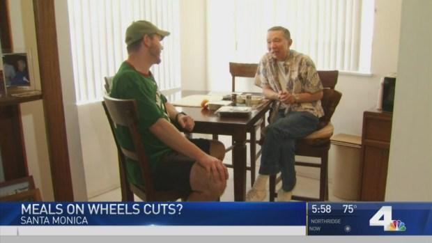 Purple Heart Vet Receives Meals on Wheels