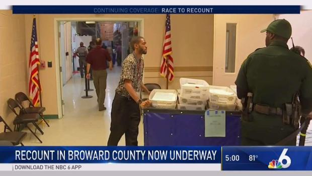 [MI] Recount in Broward County Now Underway
