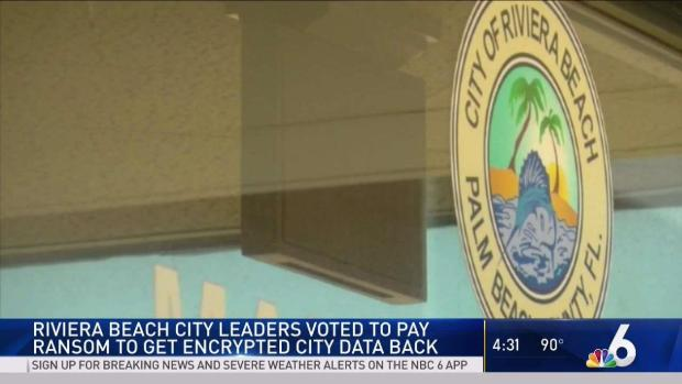 [MI] Riviera Beach Agrees to Pay Ransom to Hackers