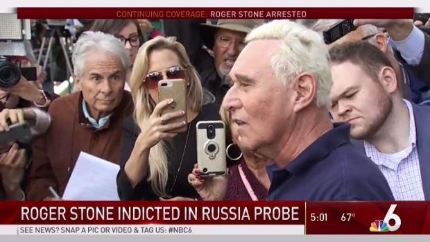 [MI] Roger Stone Arrested in Fort Lauderdale