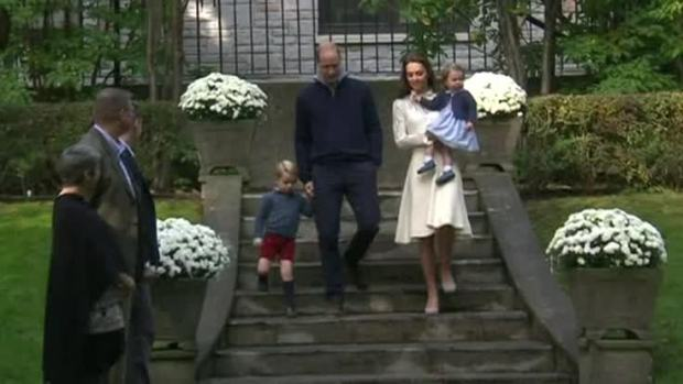 Royals' Family Children Enjoy Canadian Tour