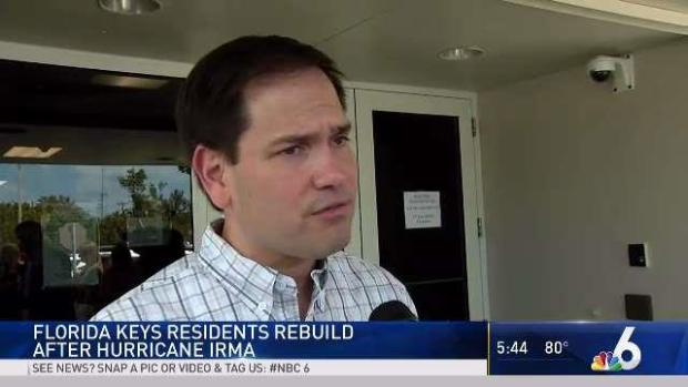 [MI] Rubio: Federal Funds Needed for Florida Keys Recovery