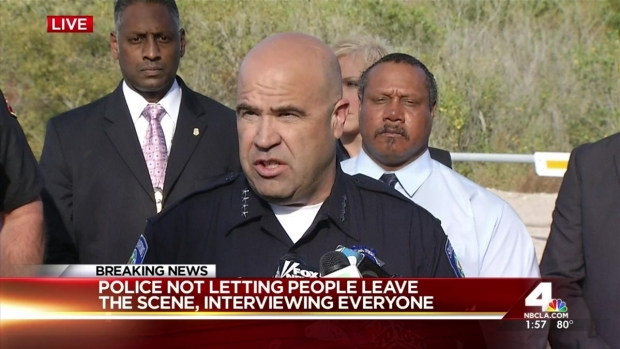 [NATL-LA] San Bernardino Police Chief Confirms Mass Shooting to Public
