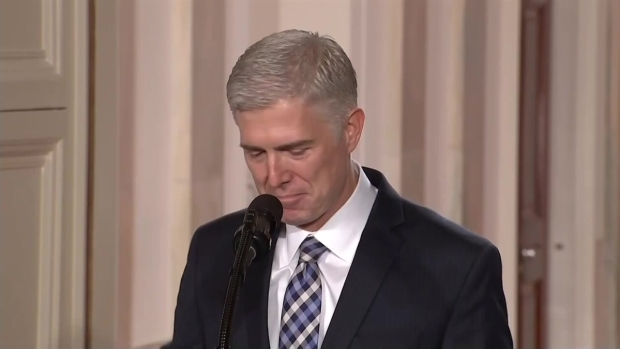 [NATL] Trump Picks Neil Gorsuch for Supreme Court
