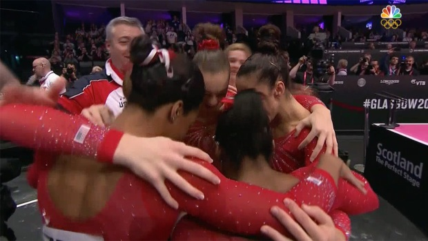 [NATL] US Women's Gymnastics Team Hopes to Make History