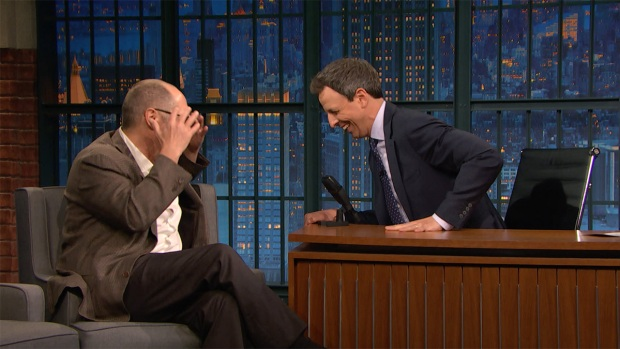 [NATL] 'Late Night': James Spader Hates Film Crews in New York