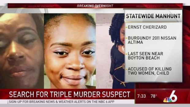 [MI] Search on for Triple Murder Suspect in Florida