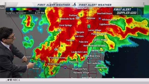 [MI] Severe Weather After Report of Tornado in Fort Lauderda