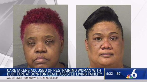 [MI] South Florida Caretakers Accused of Restraining Woman With Duct Tape