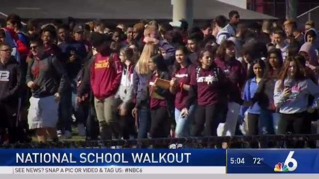 [MI] South Florida Students in National School Walkout